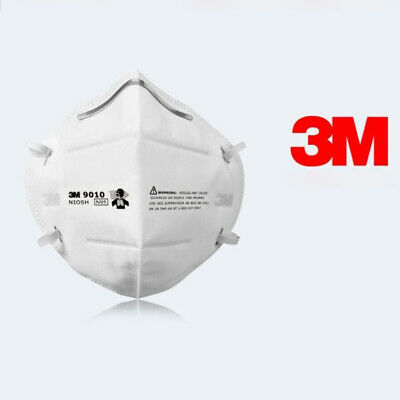 AU49.99 • Buy 10x 3M 9010 N95 P2 Particulate Respirator Protective Face Mask Filter Flat-fold