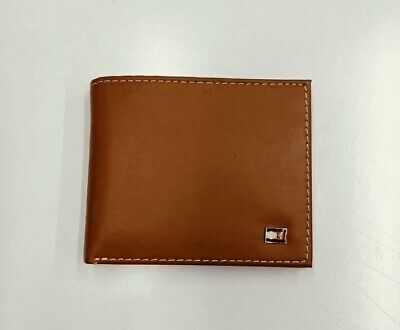 £19.99 • Buy Mens Leather Wallet 'Tommy Hilfiger' Brown, Bifold, Coin Pouch, Card Slot