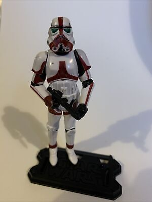 Star Wars 3.75 Force Unleashed 30th TAC  Incinerator Stormtrooper One Figure • 16£
