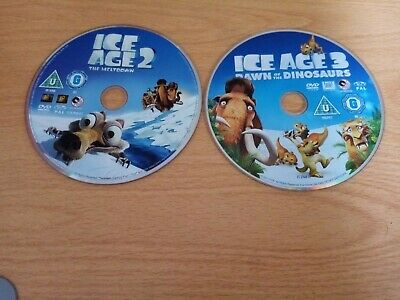 Ice Age 2 And 3 Discs Only Dvd • 2£