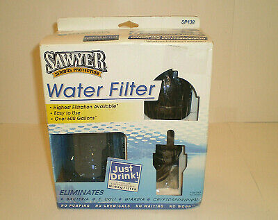 AU19.60 • Buy Sawyer Water Filter SP130 Filtered Water Bottle New....Box Is Sealed