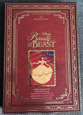 I Heart Revolution Disney Beauty And The Beast Eyeshadow & Face Palette Book NEW • 18£