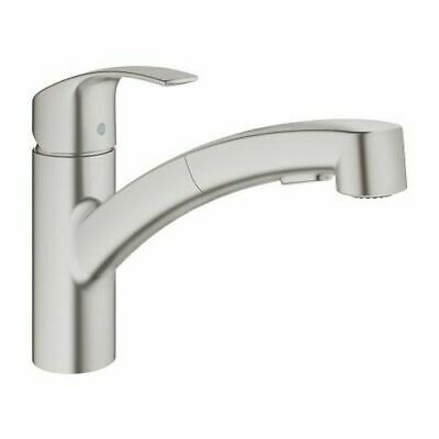 Grohe Eurosmart With Hand Shower, Low Spout • 167.08£