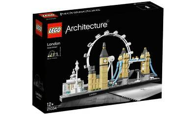 ** Lego 21034 Architecture London Skyline London Eye Big Ben Tower Bridge BNISB • 49.99£
