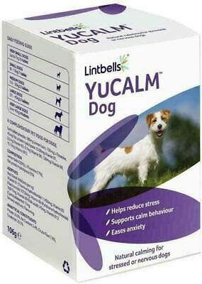 £13.97 • Buy Lintbells YuCALM DOG Calming Supplement For Stress & Anxiety 30,60,90 & 120 Tabs