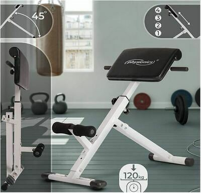 Back Hyper Extension Exercise Bench Physionics Roman Chair Foldable • 165£