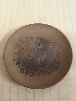 £7 • Buy Poole Pottery Small Cat Themed Pin Dish - Lovely Piece.