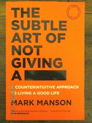 AU9.95 • Buy ~The Subtle Art Of Not Giving A F*ck - Mark Manson - GC~
