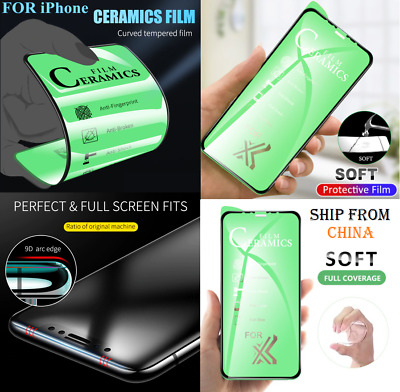 AU5.80 • Buy CERAMIC HD Matte PRIVACY Screen Protector FOR Iphone 12 11 6 8 X SE FULL COVER