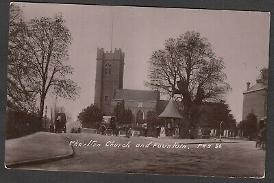 £9.99 • Buy Postcard Charlton Nr Woolwich London The Church And Fountain 1910 RP By Perkins