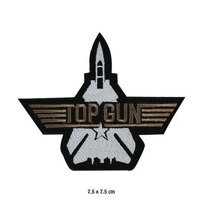£1.99 • Buy Top Gun  Movie Embroidered Patch Iron On Sew On Badge