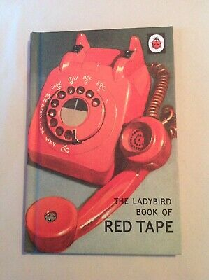 The Ladybird Book Of Red Tape ~ Ladybird Books For Grown-ups ~ New • 2.99£