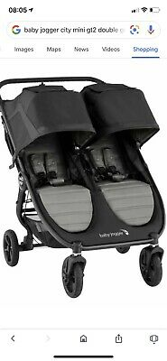Baby Jogger City Mini Gt2 Double  In Slate BRAND NEW - Newest Model Brand New -1 • 550£