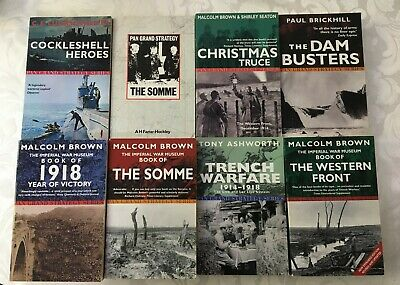 Pan Grand Strategy Series 8 X Paperback Books Somme Dambusters 1918 Etc • 10£