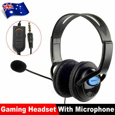 AU18.99 • Buy Headphones Wired With Mic Headset Gaming Earphone For Computer PC 3.5mm Jack AU