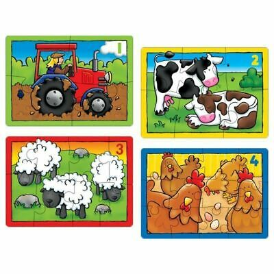 £6.99 • Buy Orchard Toys Farm Puzzle - 4 In A Box Jigsaw Puzzle