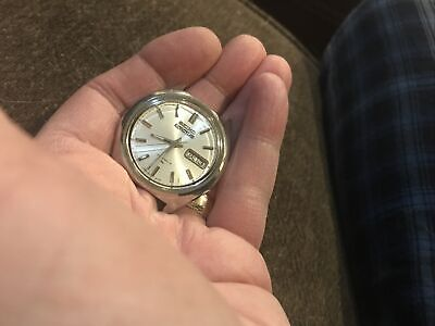 $ CDN121 • Buy Vintage Mens 5 Actus Kanji Seiko 7019 8010 Working