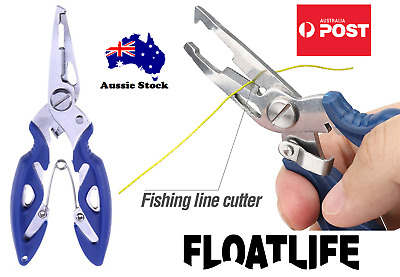 AU9.99 • Buy Fishing Pliers Snips Scissors Line Cutter TACKLE Trace Split Ring Tool Remover