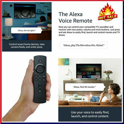 Uk Official Amazon Fire Stick Voice Remote Control With Alexa Replacement L5b83h • 18.59£