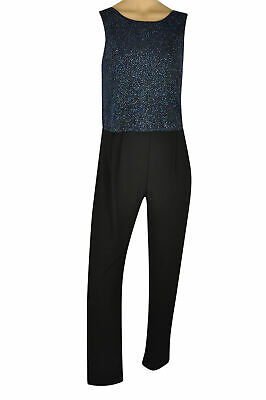 £10.99 • Buy Ex Dorothy Perkins Sleeveless Silver Sequin Jumpsuit Party Sparkle Glitter Night