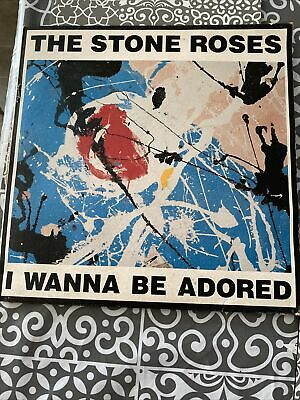 "The Stone Roses I Wanna Be Adored 12"" Vinyl • 35£"