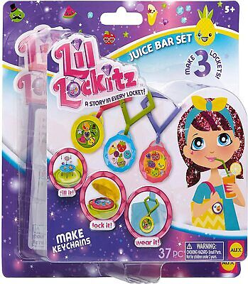 £6.49 • Buy Lil Lockitz Make Your Own Keychain & Clip Keyring Fun Toy Gift