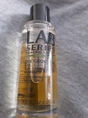 Lab Series Skincare For Men The Grooming Oil - 3-In-1 Shave & Beard Oil - 50ml • 9.95£
