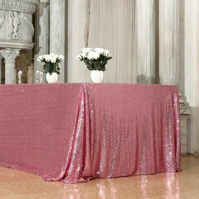 £1.09 • Buy Pink 3mm Sequin Fabric Sparkly Bling Material 2W Stretch 130cm Wide Metre