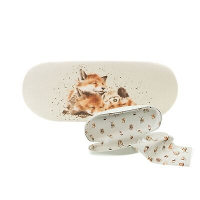 Wrendale Foxes Afternoon Nap Glasses Case - Illustrated Hard Spectacle Case • 11.99£