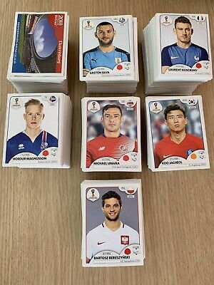 £3 • Buy Panini FIFA World Cup Russia 2018 Stickers - Almost Complete List - 20 For £3