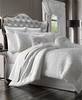 $ CDN285.46 • Buy J Queen King Comforter Set Color White New In Package