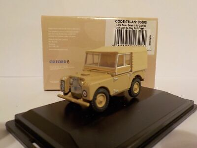 Model Car, Land Rover Series 1 80 Canvas RAF , 1/76 New Release, Oxford 76LAN180 • 7.99£