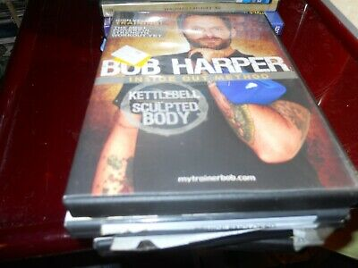 NEW Bob Harper Kettlebell Sculpted Body Inside Out Method DVD Training Workout • 8.21£
