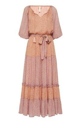 AU375 • Buy Spell RAE GOWN Peach Size SMALL
