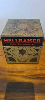 Hellraiser Limited Edition 4 DVD Box Set - RARE - VGC • 43£