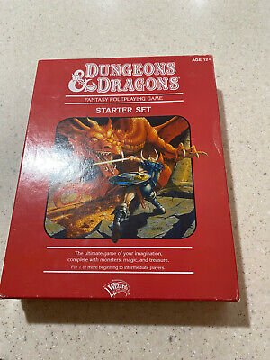 AU45 • Buy DUNGEONS & DRAGONS Starter Set Red Box (2010) - Rare D&D RPG AD&D Wizards