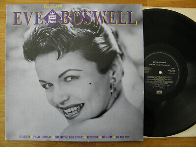 £7 • Buy The Best Of Eve Boswell The Emi Years 1989 Vinyl Lp  Record Album Vg++ / Vg+