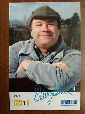 £6.99 • Buy DAVID LONSDALE *David Stockwell* HEARTBEAT PRE-SIGNED CAST CARD AUTOGRAPH