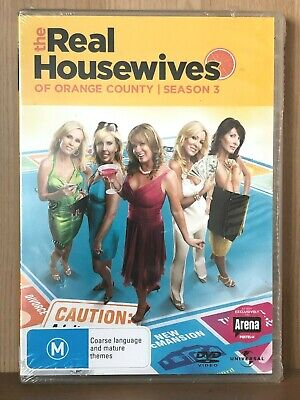 £16.54 • Buy The Real Housewives Of Orange County~season Three 3~brand New & Sealed Pal Dvd