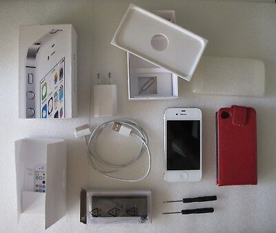£42.87 • Buy Boxed Smartphone APPLE IPhone 4S White 16GB A1387 With Accessories