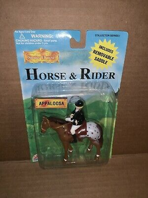 International Show Horse Collection Appaloosa Horse And Rider Sealed • 14.14£