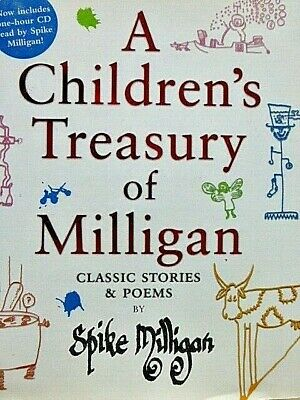 Spike Milligan - A Children's Treasury Of Milligan ( Inc Cd) 2006 Hardback In Dj • 9.99£