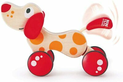 Walk-A-Long Puppy Wooden Pull Toy By Hape Award Winning Push For Toddlers Can Si • 21.42£