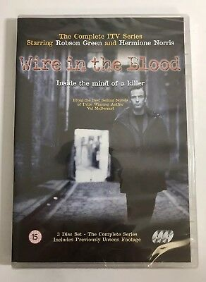 £4.99 • Buy NEW & SEALED. Wire In The Blood: The Complete Series 1. 3 X DVD. Robson Green
