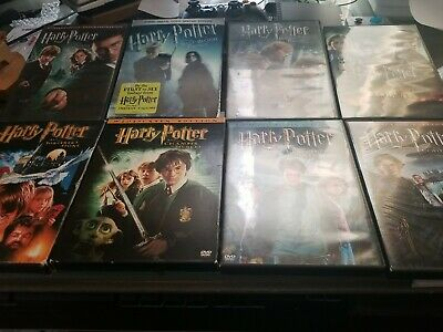$ CDN21.56 • Buy Harry Potter: Complete Collection (DVD Set) Custom Lot Of 8 Individual Film Set