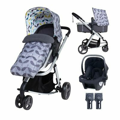 AU701.03 • Buy Baby Travel System 3 In 1 Cosatto Giggle 3 Accessories Bundle-Seedling BRAND NEW