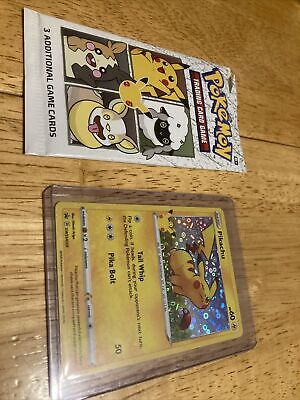 $7.99 • Buy Pokemon Pikachu General Mills 25th Anniversary Stamped Holo Foil Promo Card MINT