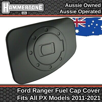 AU29.99 • Buy ROUND MATTE BLACK FUEL CAP COVER- Accessories For Ford Ranger PX PX2 PX3 2011-21