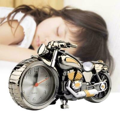 Motorcycle Motorbike Alarm Clock Desk Table Clock Birthday Christmas Cool R2B9 • 6.31£