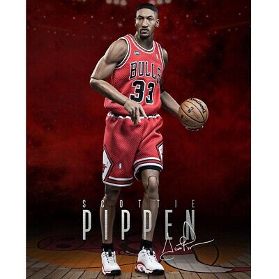 $666.38 • Buy Enterbay Nba - Chicago Bulls Scottie Pippen 33 - Brand New 1/6